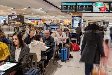 EAT Tables take off at Sydney International Airport!